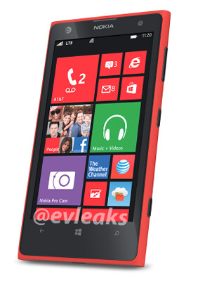 Nokia Lumia 1020 in red surfaces, coming to AT&T