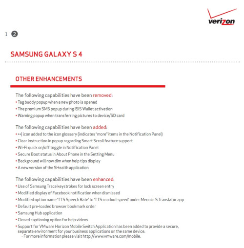 No Root for you, as the newest update for the Verizon Samsung Galaxy S4 kills it