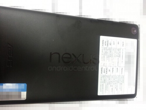 New Nexus 7 shows up in video along with potential specs