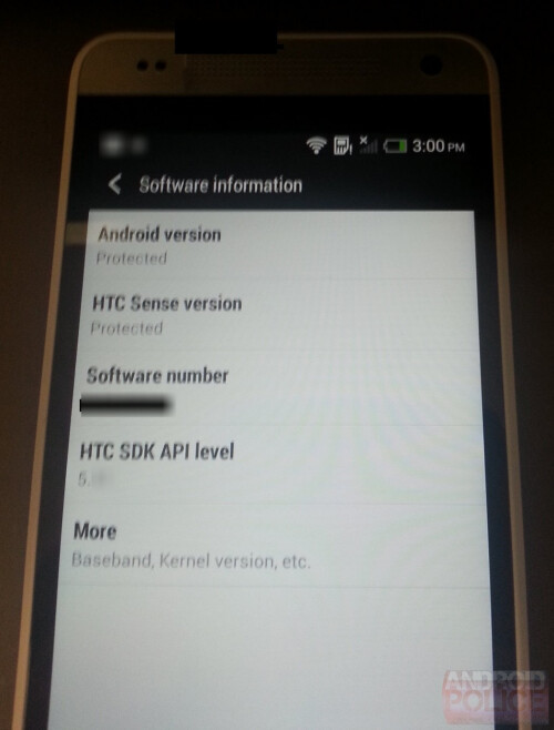 HTC One Mini for AT&T caught on camera