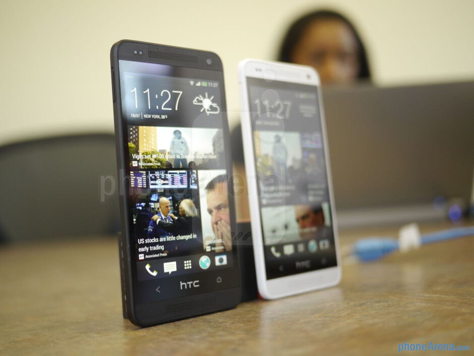 The HTC One mini features a 4.3-inch Super LCD 3 display with 720p resolution. - HTC One mini hands-on