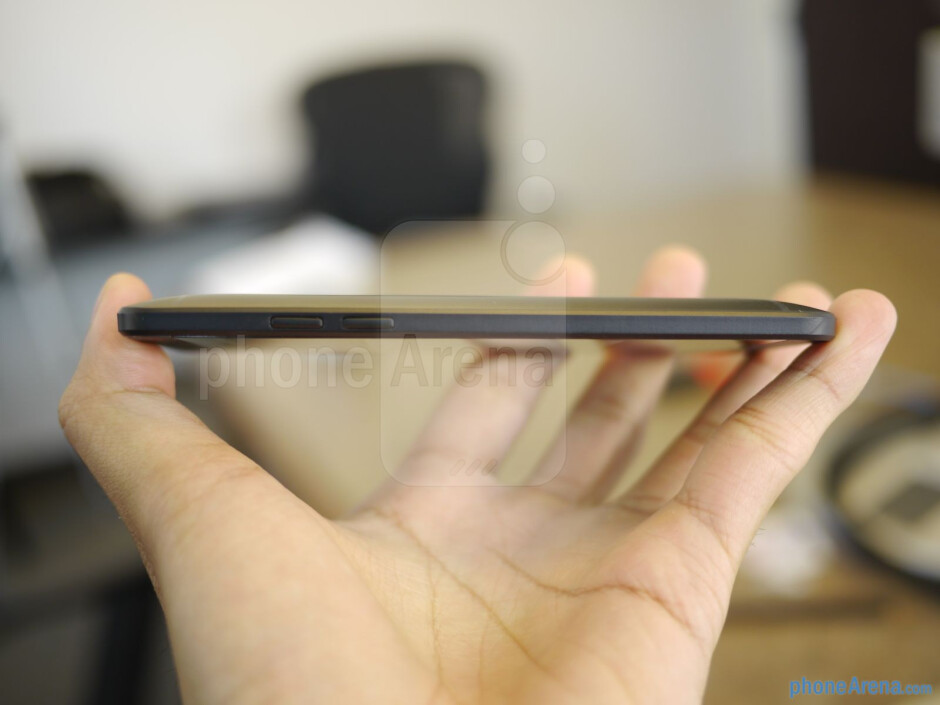 It's more pocket friendly this time, obviously. - HTC One mini hands-on