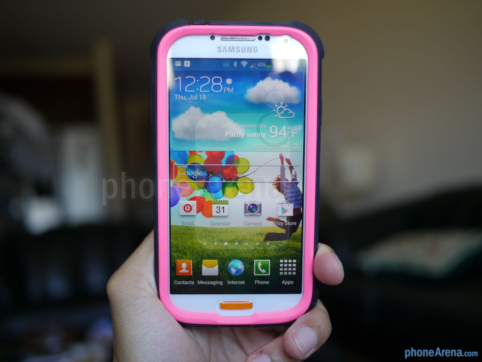 Trident Cyclops Samsung Galaxy S4 case hands-on : PhoneArena reviews