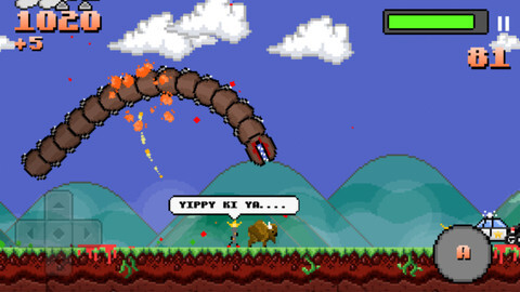Super Mega Worm - Android, iOS - $1.99