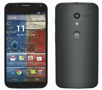 Press render of the Motorola Moto X