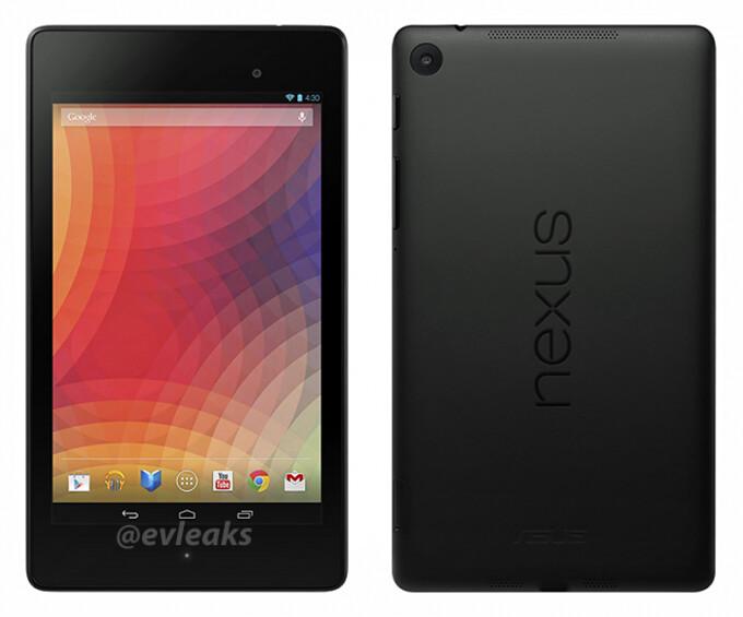 New Nexus 7 press shots leak, confirm Android 4.3