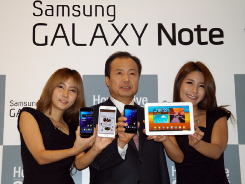 There may be four different Galaxy Note 3 versions