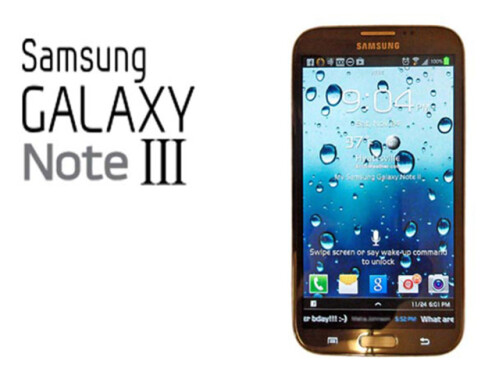 Samsung Galaxy Note 3 preliminary specifications