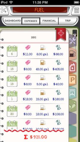 Autoist Diary - Android, iOS - $1.99