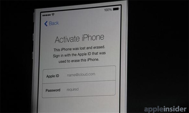 A look at the Activation Lock, coming to iOS 7 - San Francisco DA happy with anti-theft initiatives from Apple and Samsung