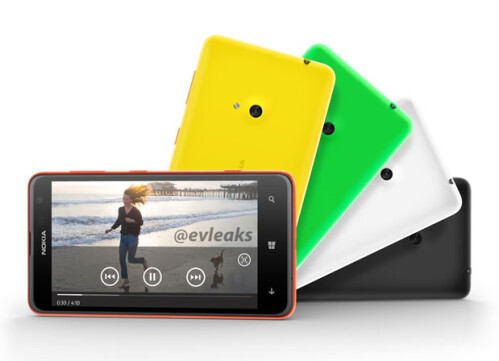 Nokia Lumia 625 pics and specs leak: a preview of tomorrow's announcement?