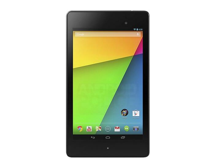 Second-generation Nexus 7 press images surface