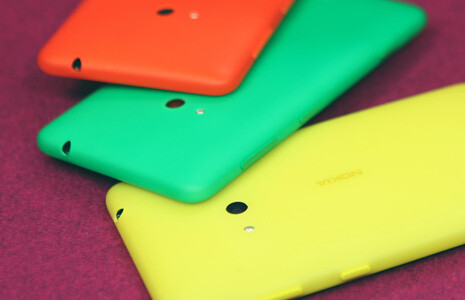 Nokia Lumia 625 comes with a new generation of polycarbonate shells