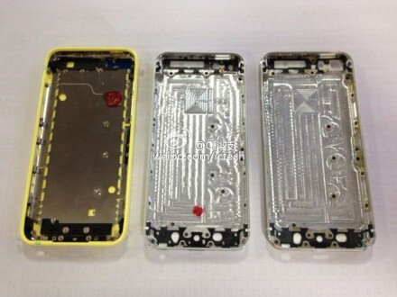 The shells of the iPhone trio