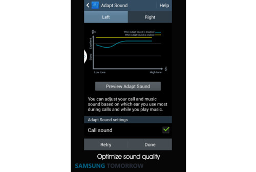 Adapt Sound optimizes sound quality