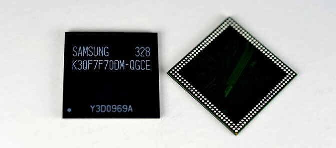 Samsung makes first 20nm 3GB RAM chip for smartphones, puts it on the conveyor belt