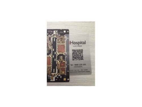 The iPhone 5S motherboard shows up at the iHospital