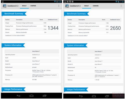 2012 Nexus 7 on the left, 2013 Nexus 7 on the right