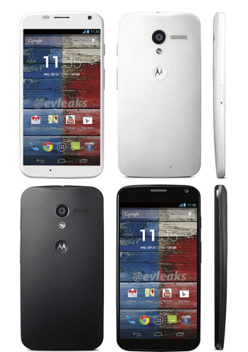Moto X in black and white shows up in possible press images