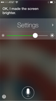 Examples of some of the new features coming to Siri in iOS 7