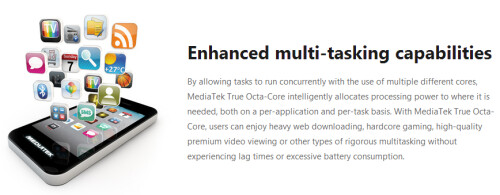 MediaTek introduces the first true octa-core processor