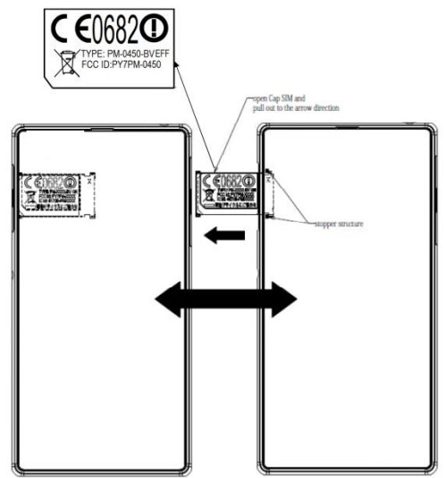 Sony Xperia i1 Honami visits the FCC