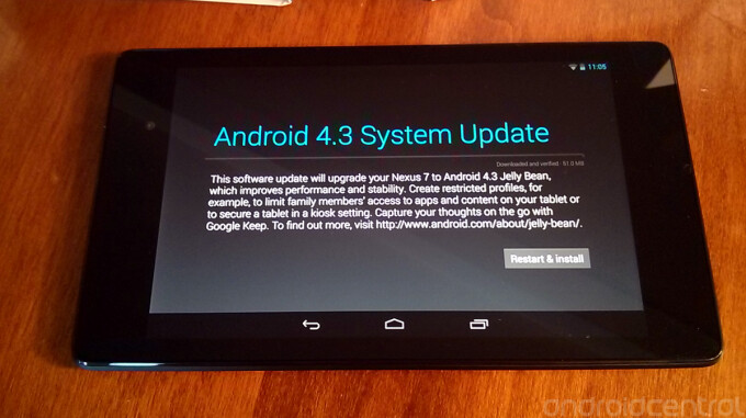 Two updates have already been sent out to owners of the new Nexus 7 - Two updates sent out to new Nexus 7 owners