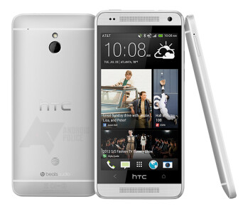Press render of the AT&T HTC One mini leaks out: BoomSound and UltraPixel in compact shell