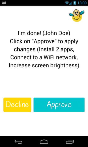 Zikk remote setup app for Android