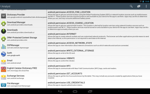 Android app 'Analyst' uncovers everything your apps are accessing