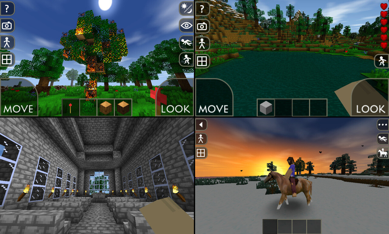Best minecraft like games for android for Mine craft free demo