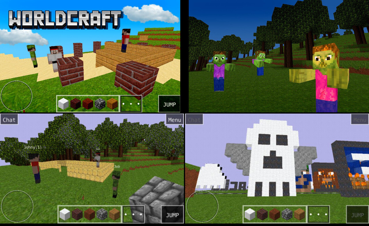 games that are like minecraft but free and no download