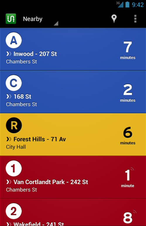 Transit for iOS and Android