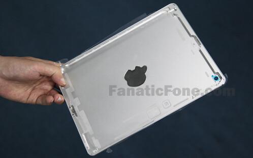 Apple iPad 5 aluminum back housing leaks