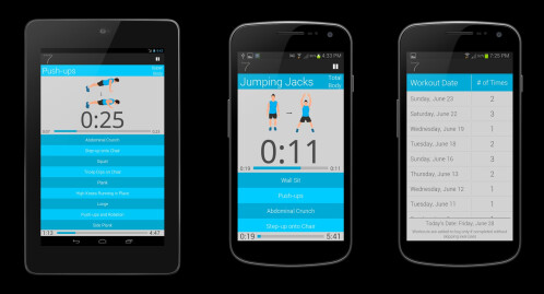 Scientific 7 Minute Workout Pro - Android - $0.99