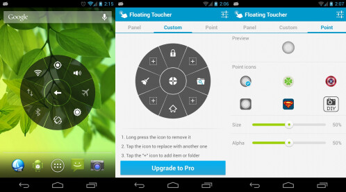 Floating Toucher - Android - Free