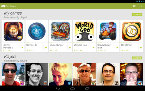 Google Play Games - Android - Free