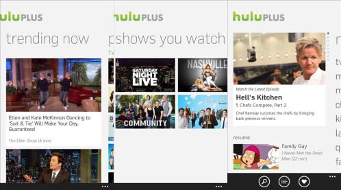 Hulu Plus - Windows Phone - Free