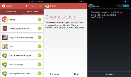 Krome - Android - $0.99