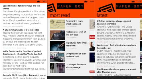 Paper Boy - Windows Phone - Free
