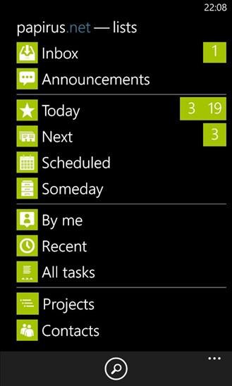 Papirus - Windows Phone - Free