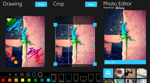 Photo Editor by Aviary - Windows Phone - Free