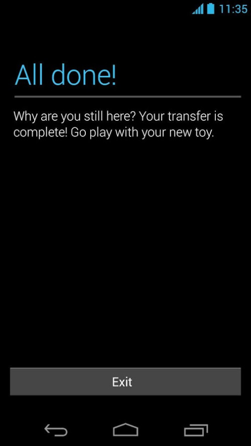 Motorola Mobility, the companion app for the Moto X