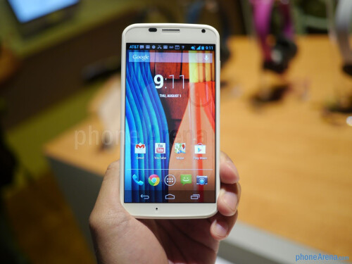Motorola Moto X hands-on