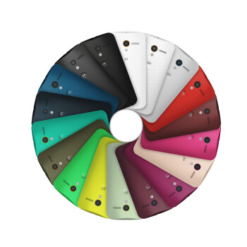 A look at the Moto X color options: where's orange?