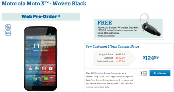 Pre-order the Motorola Moto X from U.S. Cellular