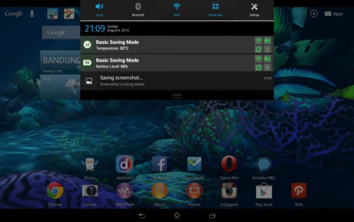 Android 4.2.2 update for Sony Xperia Tablet Z