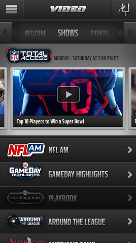 NFL Mobile is updated