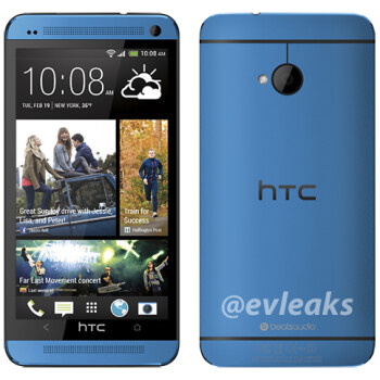HTC One shown in Blue, but now coming to Verizon Aug 29?