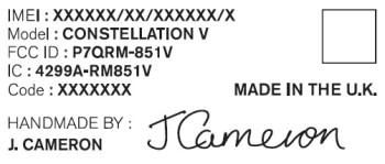 Vertu Constellation lands at the FCC